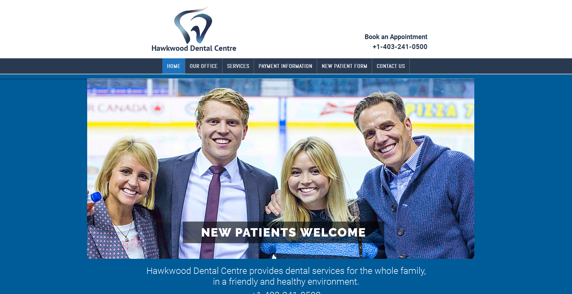 Hawkwood Dental Centre | vancouver dental website