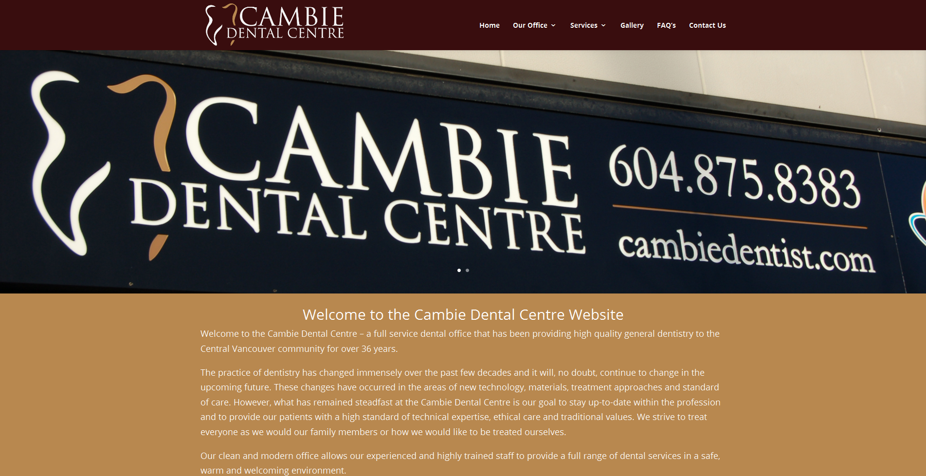 cambie dental centre