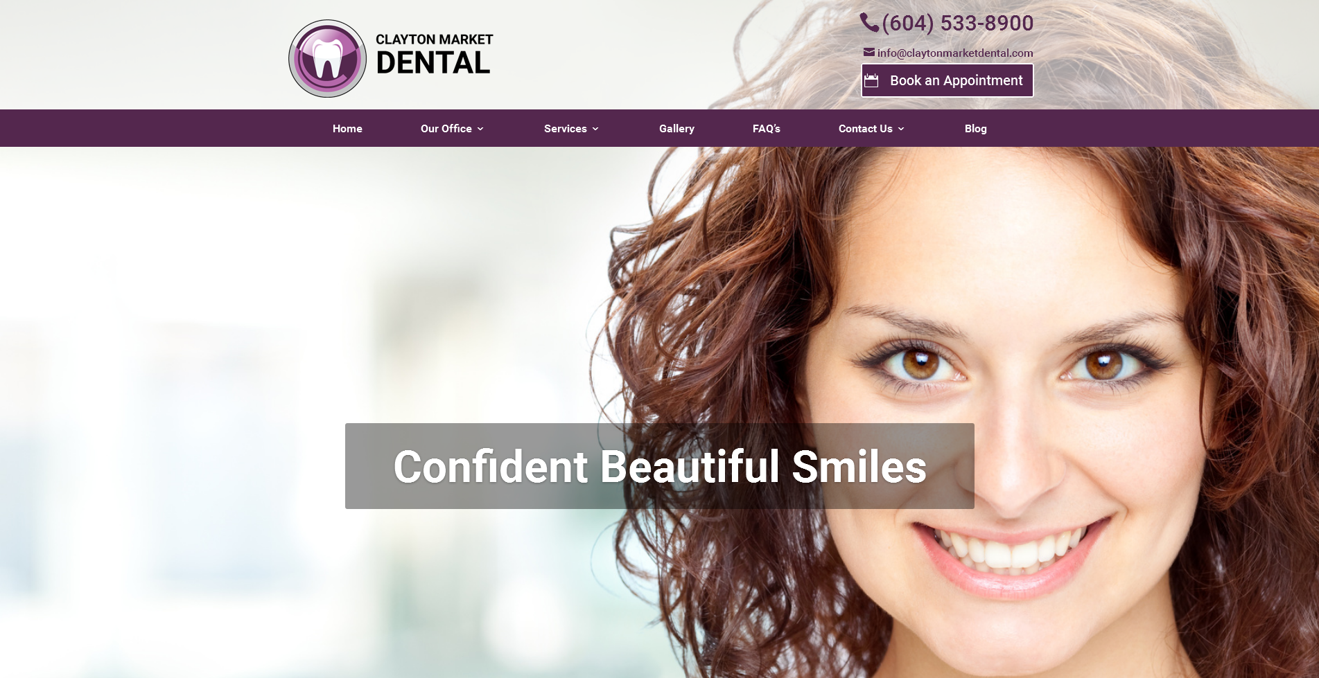 clayton market | vancouver dental website
