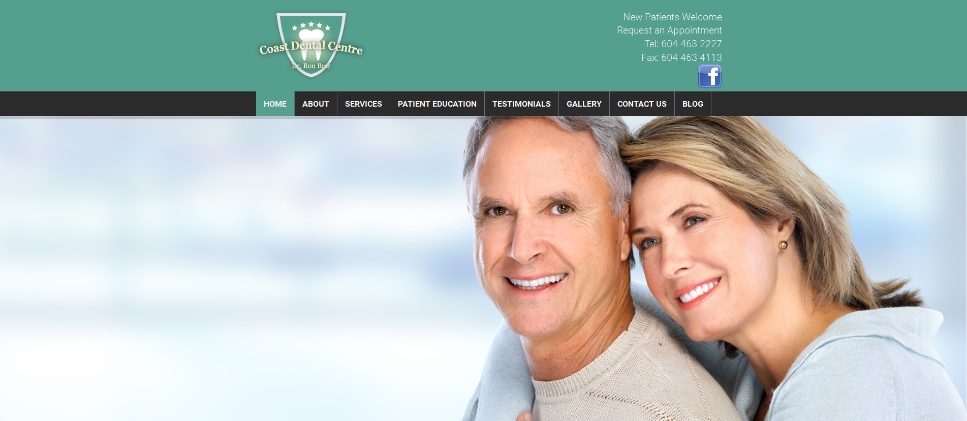 Coast Dental Centre | vancouver dental website