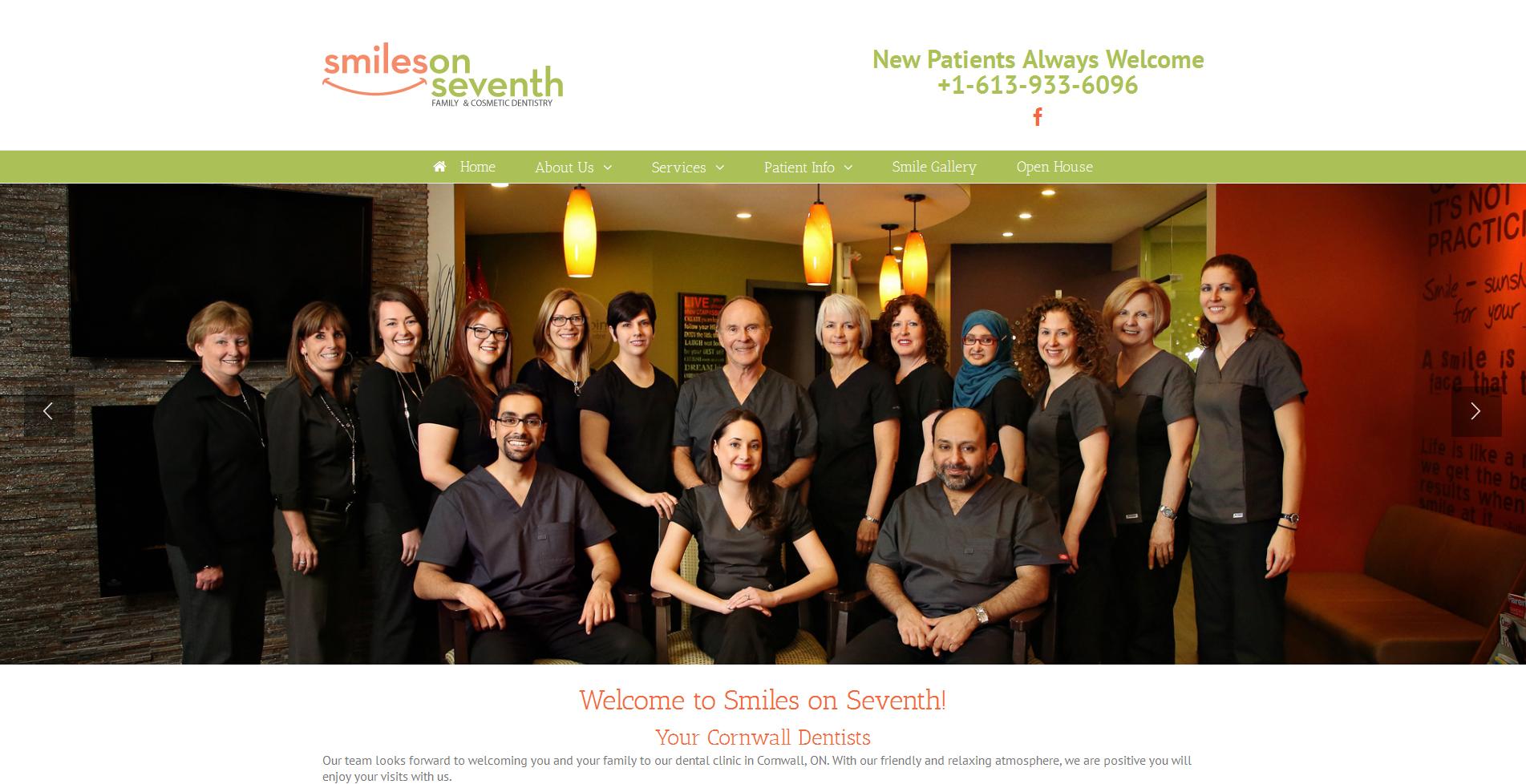 smile on seventh | vancouver dental website
